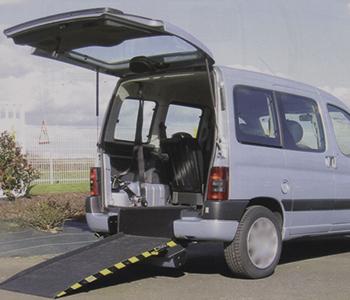 Berlingot, habillage adaptation véhicule PMR