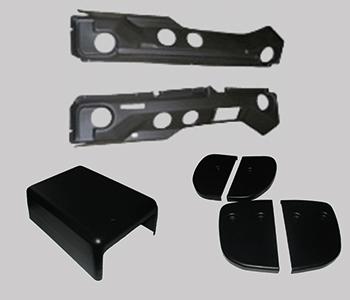 habillage de véhicules adaptés PMR, thermoformage, pièces en plastique