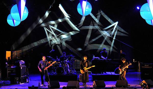Luminaires pour scene de concert